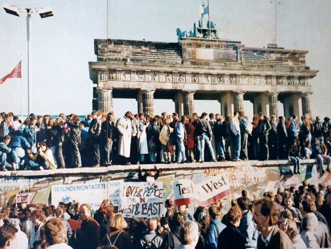 The fall of the Berlin Wall in 1989 - the birth of the New World Order